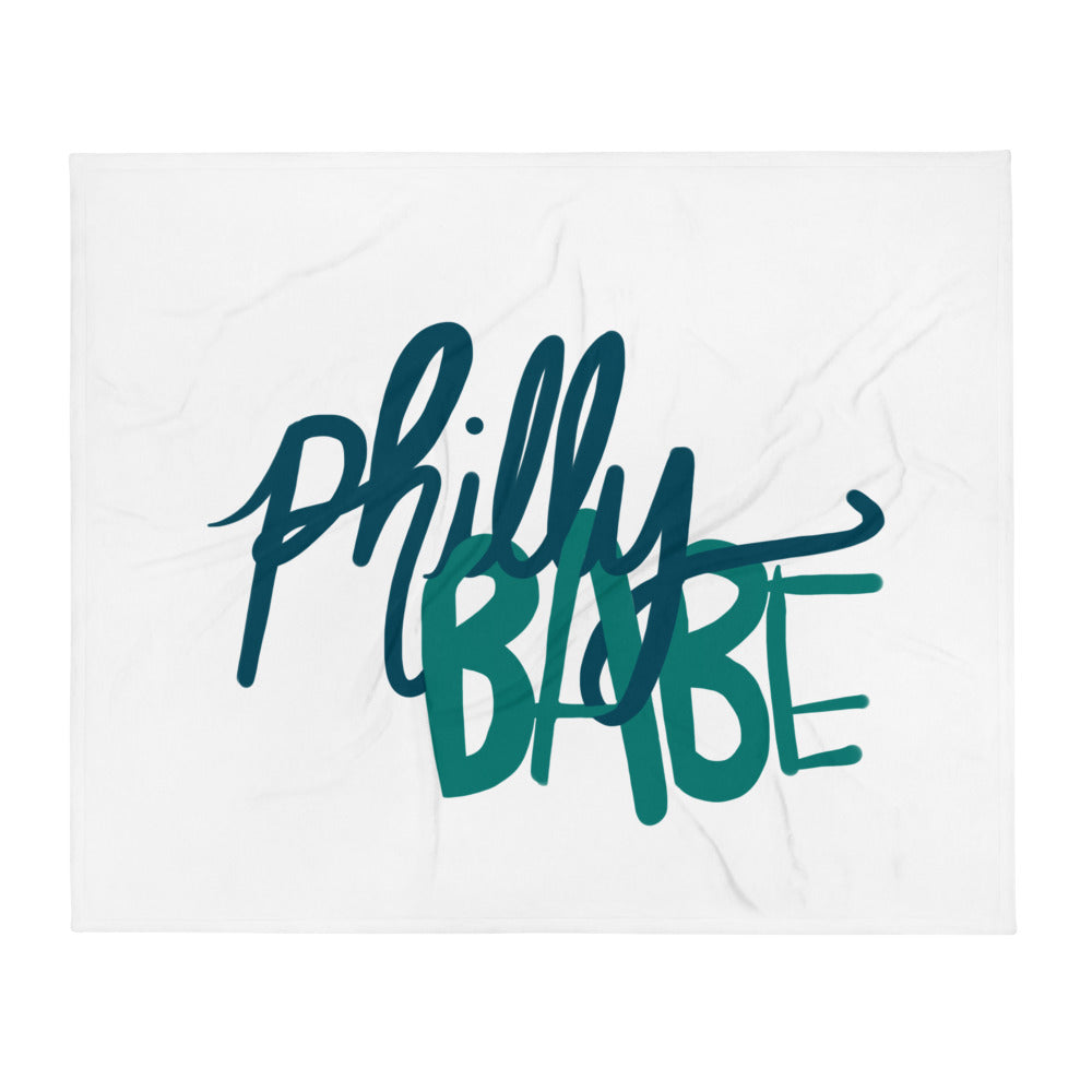 Philly Babe Throw Blanket
