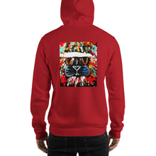 Load image into Gallery viewer, Abstract Lion Hooded Sweatshirt