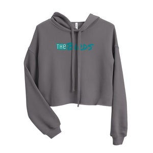 The Birds Crop Hoodie