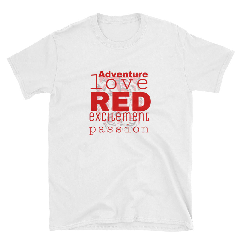 Red Emotions Short-Sleeve Unisex T-Shirt