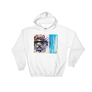 Front Visionary Lion Hooded Sweatshirt