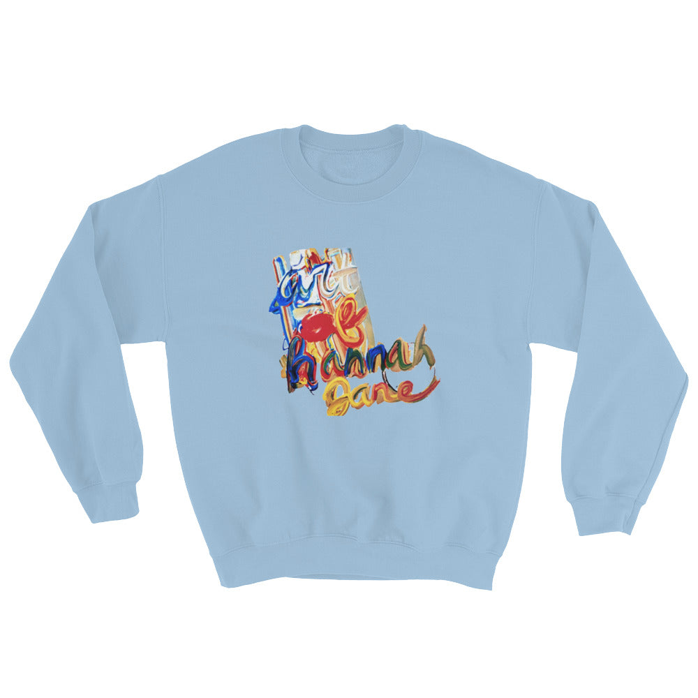 Paint Crew Neck Sweatshirt