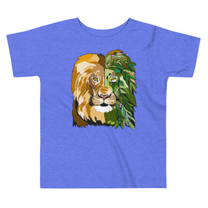 Garden Lion Toddler Short Sleeve Tee