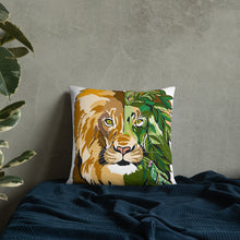 Load image into Gallery viewer, Garden Lion Basic Pillow