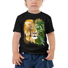 Load image into Gallery viewer, Garden Lion Toddler Short Sleeve Tee