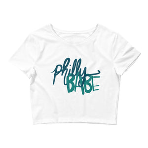 Philly babe Women's Crop Tee