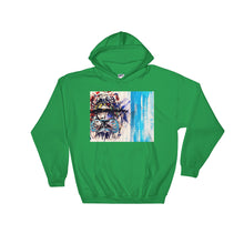 Load image into Gallery viewer, Front Visionary Lion Hooded Sweatshirt