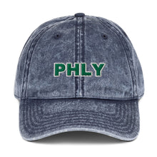 Load image into Gallery viewer, PHLY Vintage Cotton Twill Cap