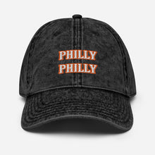Load image into Gallery viewer, Orange Philly Vintage Cotton Twill Cap