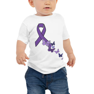 Butterfly ribbon Baby Jersey Short Sleeve Tee