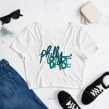 Load image into Gallery viewer, Philly babe Women's Crop Tee