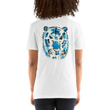 Load image into Gallery viewer, Blue Tiger UNISEX Short-Sleeve T-Shirt