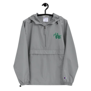 Philly babe Embroidered Champion Packable Jacket