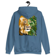 Load image into Gallery viewer, Back Garden Lion Unisex Hoodie