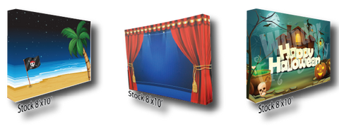 email backdrops