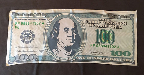 $100 Bill Silk - Wonder Imagery