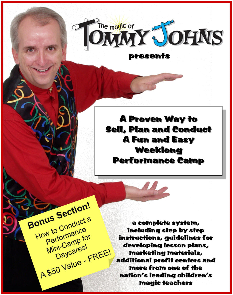 Tommy Johns' Magic Camp Kit E-book & Audio -