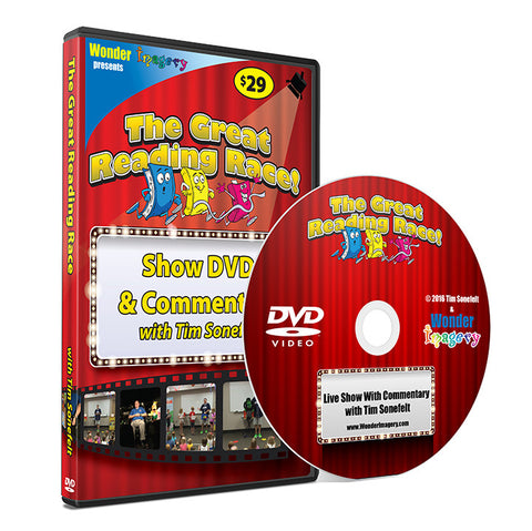 Great Reading Race DVD -
