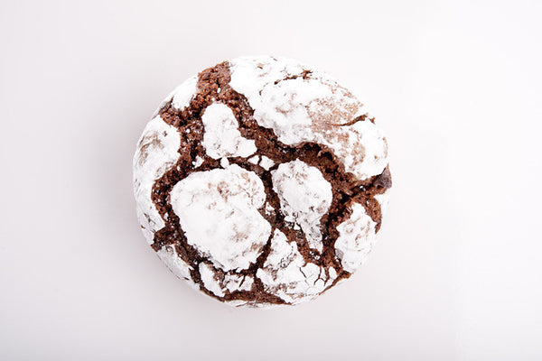 Chocolate Crinkle Cookiecake