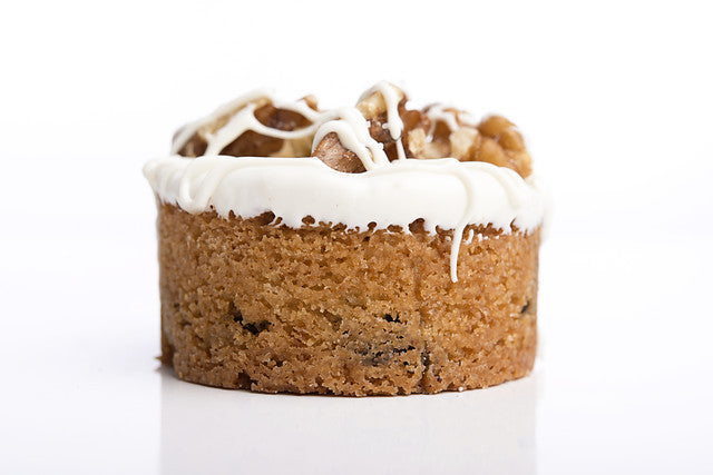 Garnished Peanut Butter Chip Cookiecake