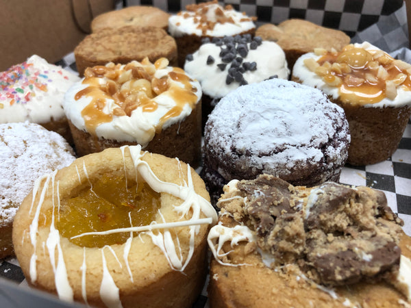Saturday's 1 DOZEN Baker's Choice - Cookiecake Sampler