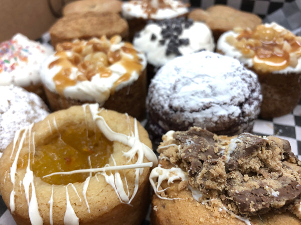 Saturday's 1/2 Dozen Baker's Choice - Cookiecake Sampler