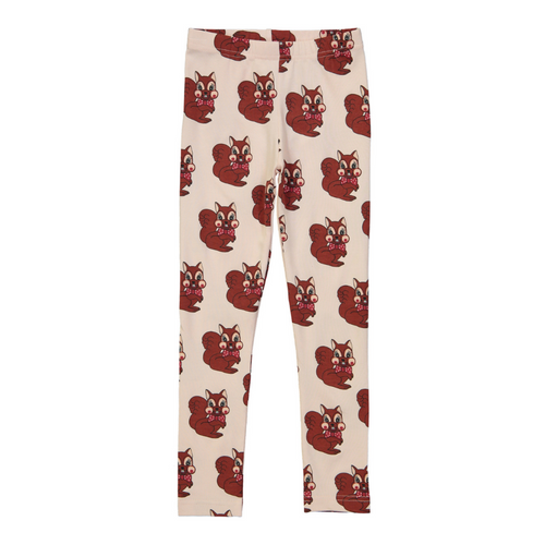 Hugo Loves Tiki Canada & USA : Brown squirrel leggings - Hugo Loves Tiki leggings