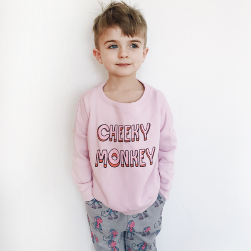 Hugo Loves Tiki : Cheeky monkey sweatshirt - Hugo Loves Tiki sweatshirt