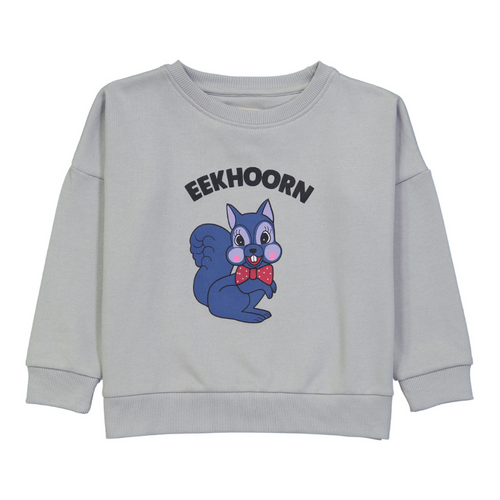 hugo loves tiki eekhoorn chest sweatshirt