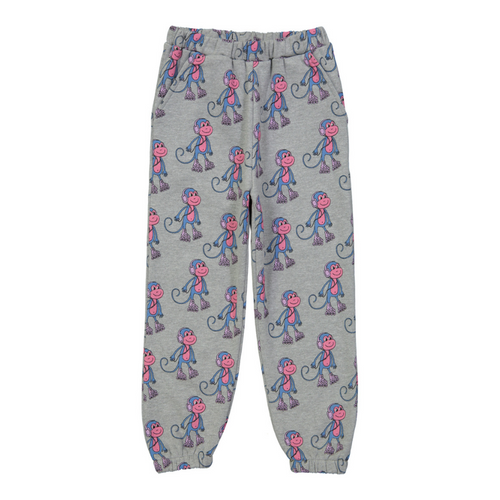 Hugo Loves Tiki Canada & USA : Monkeys sweat pants - Hugo Loves Tiki pants