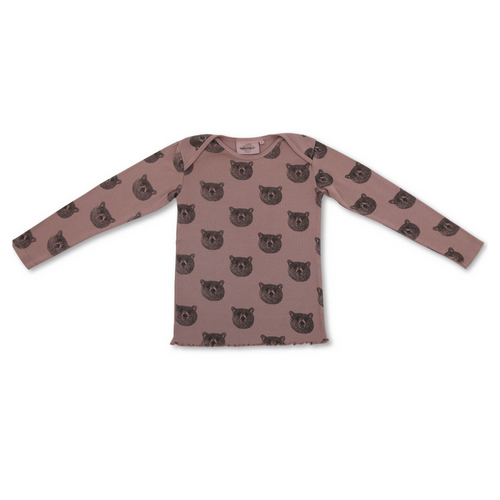 Moumout : long sleeves t-shirt MU Baloo - Unisexe kids wear