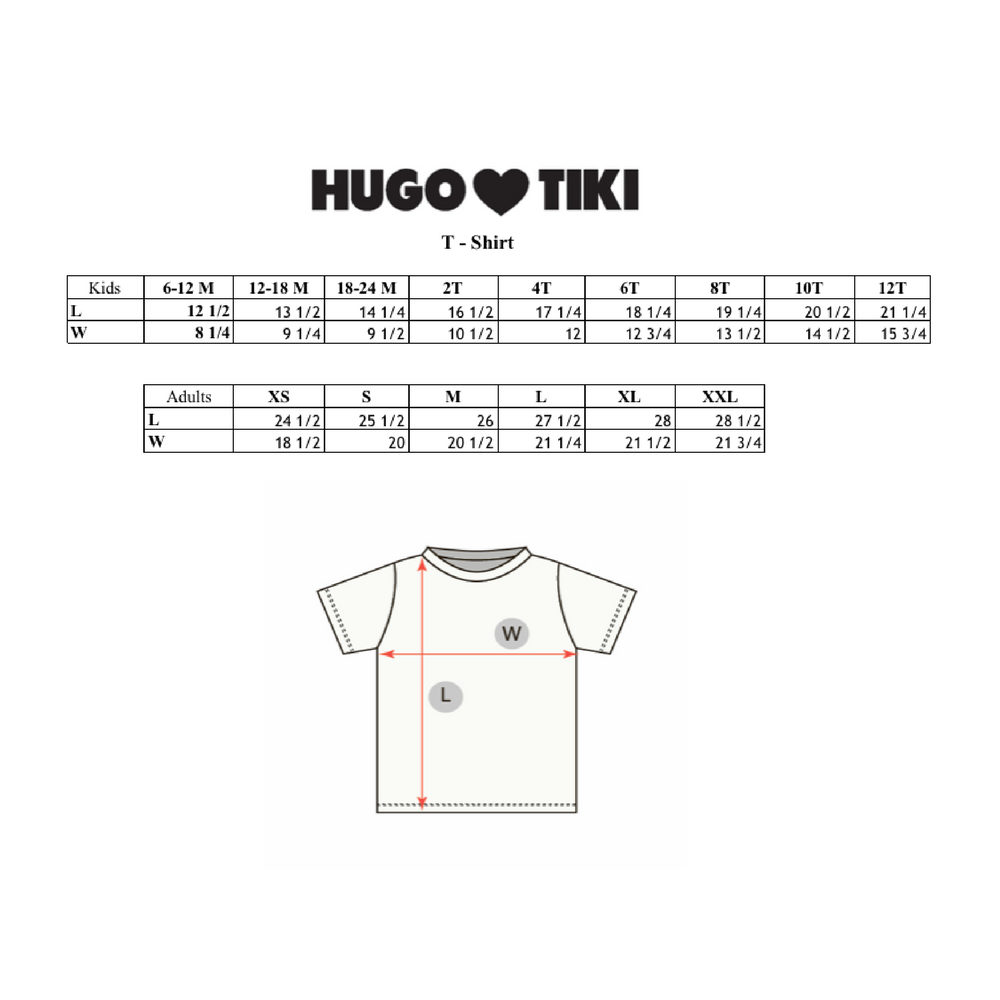 Hugo Loves Tiki T-Shirt - Super Hero - 12/18m