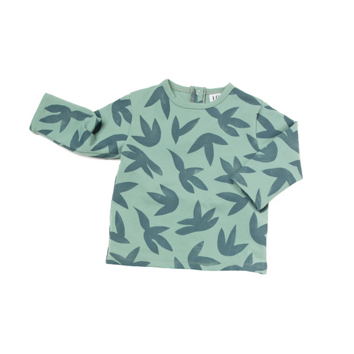 Loup Collection : T-shirt FEUIL - Sweatshirt enfant unisex