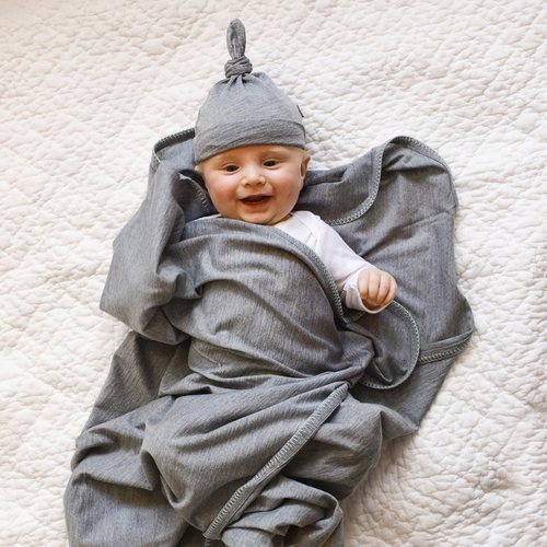 Luvmother : Merino baby blanket and hat - Baby blankets