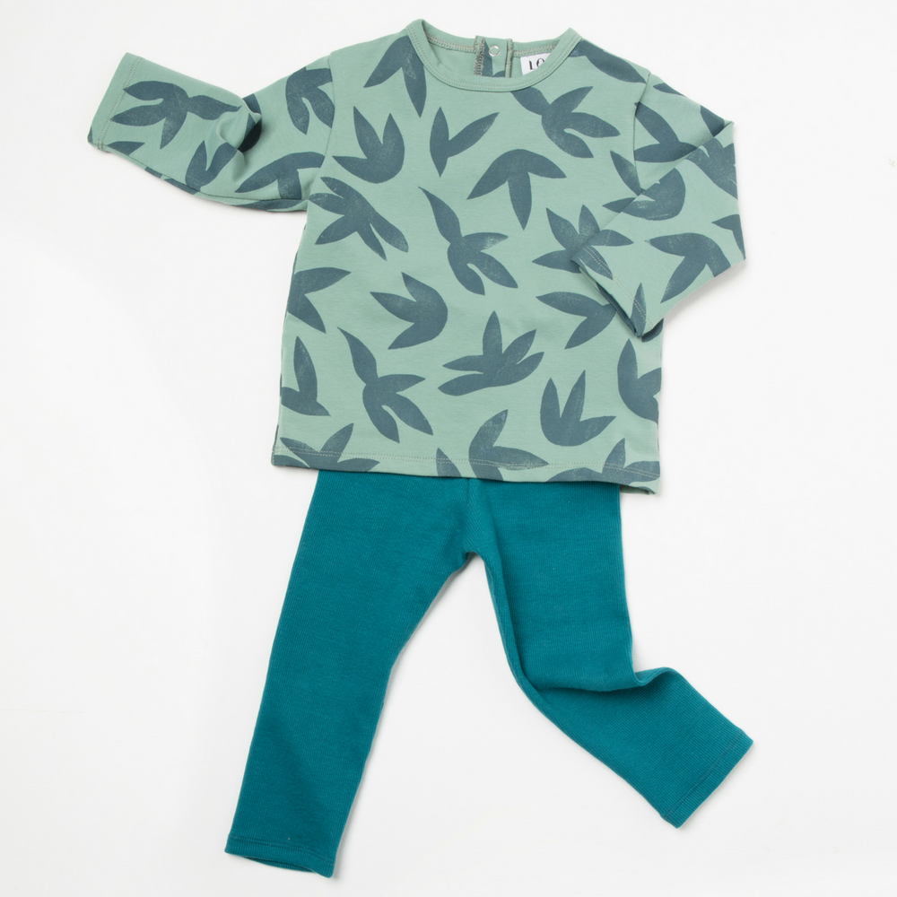 Loup Collection : Leggings BLUO - Unisex kids pants