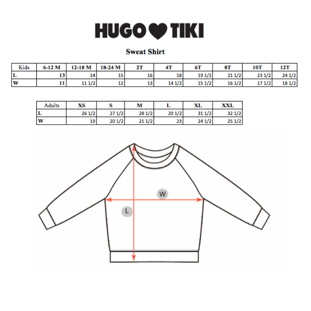 Hugo Loves Tiki : Brown squirrel sweatshirt - Hugo Loves Tiki sweatshirt