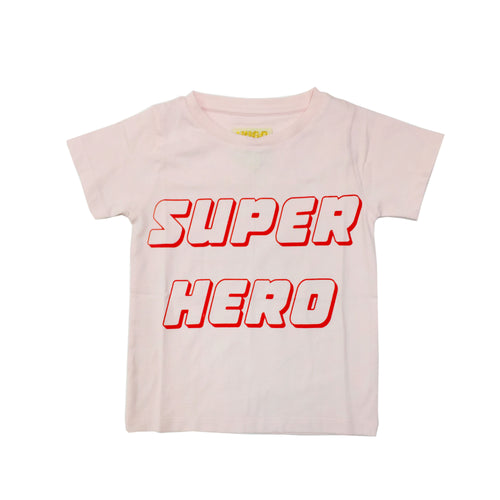 hugo loves tiki super hero t-shirt