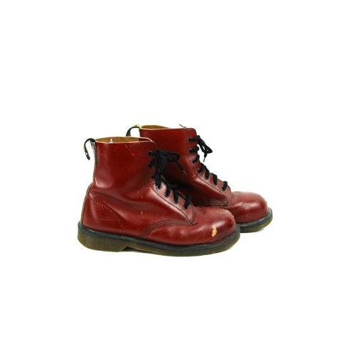 1993 Made in England Dr.Marten 1460 Boots // UK Size 10, US Size 11 - Desert Moss