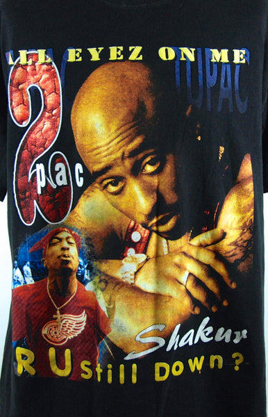 Original 2Pac All Eyez On Me T-Shirt - Desert Moss