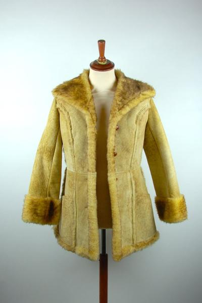 Ardney Suede Lamb Princess Seam Coat