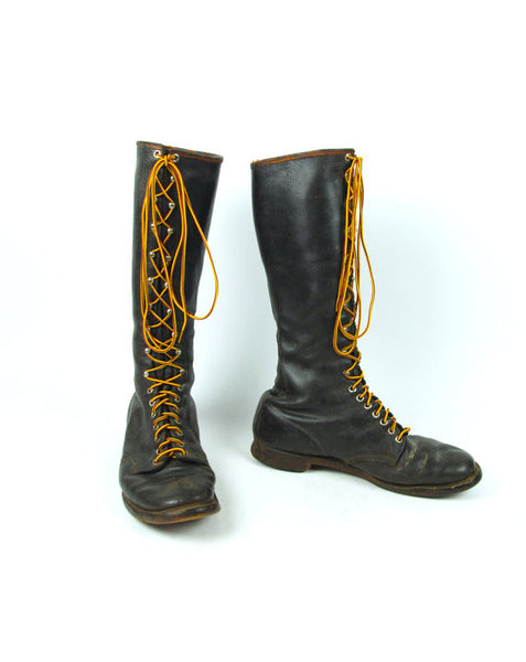 1930's ORIGINAL CHIPPEWA Logger Boots, Heritage Boots, Campus Boots