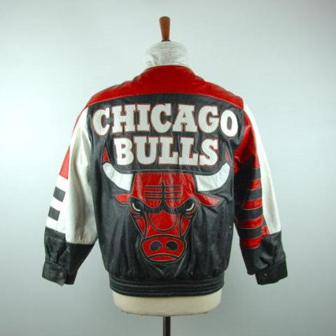edebc9d12dba8c 1990 s CHICAGO BULLS Leather Jacket by Jeff Hamilton – Desert Moss