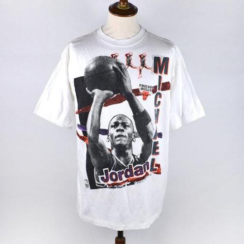 RARE Michael Jordan T-Shirt by Magic Johnson T's - Desert Moss