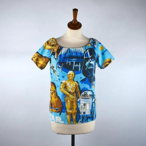 Vintage Star Wars Blouse! One of a Kind!