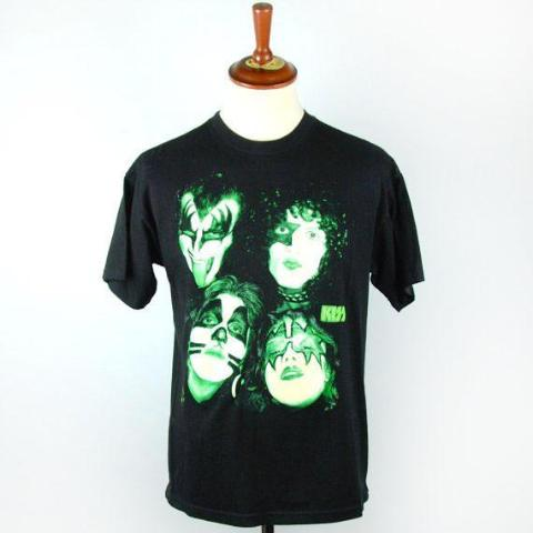 1996 KISS Glow in the Dark T-Shirt, EXCELLENT CONDITION
