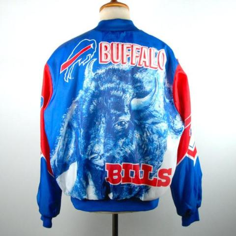 1980's Buffalo Bills Satin Jacket by Chalk Line