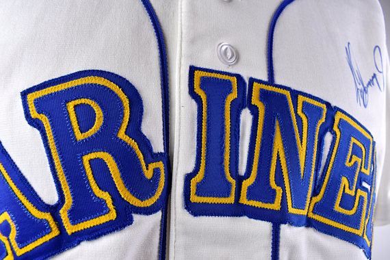 ... Ken Griffey Jr. AUTOGRAPHED Seattle Mariners Jersey by Russell Athletic  ... dd55d41c8