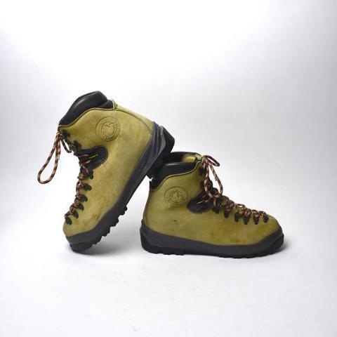 Vintage Sportiva Hiking Boots, Walking On The Moon , Men's Size 45 1/2 B - Desert Moss