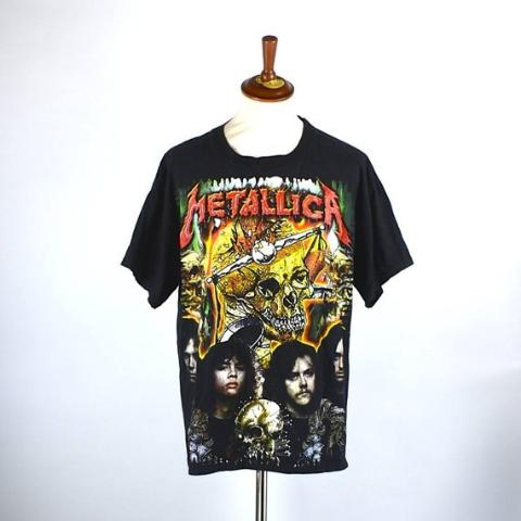 1990's Metallica Parking Lot Tee - Mexican Parking Lot T-Shirt