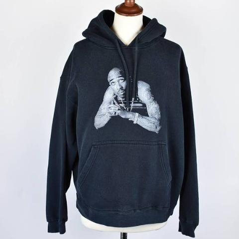 Very Rare and Original 2Pac Hooded Sweatshirt, Large